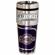 Milwaukee Brewers Hi-Def Travel Tumbler