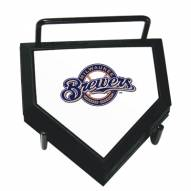 Milwaukee Brewers Home Plate Coaster Set