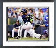 Milwaukee Brewers Jean Segura 2014 Action Framed Photo