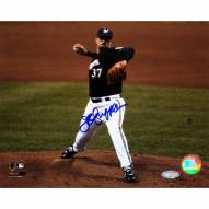 "Milwaukee Brewers Jeff Suppan Brewers Front View Pitching Signed 16"" x 20"" Photo"