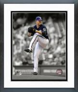 Milwaukee Brewers Jimmy Nelson 2014 Spotlight Action Framed Photo