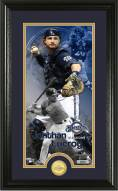 Milwaukee Brewers Jonathan Lucroy Supreme Bronze Coin Photo Mint