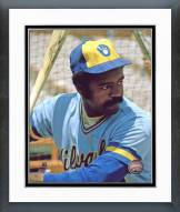 Milwaukee Brewers Larry Hisle Posed Framed Photo
