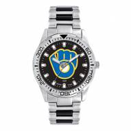Milwaukee Brewers Men's Heavy Hitter Watch