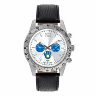 Milwaukee Brewers Men's Letterman Watch