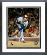 Milwaukee Brewers Mike Caldwell Pitching Framed Photo