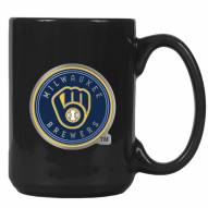 Milwaukee Brewers MLB 2-Piece Ceramic Coffee Mug Set