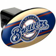 Milwaukee Brewers MLB Trailer Hitch Cover