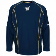 Milwaukee Brewers On-Field Practice Pullover