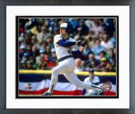 Milwaukee Brewers Paul Molitor 1982 World Series Action Framed Photo