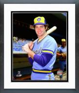 Milwaukee Brewers Paul Molitor Posed Framed Photo