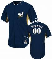 Milwaukee Brewers Personalized Authentic Batting Practice Baseball Jersey