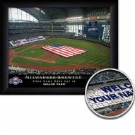 Milwaukee Brewers Personalized Framed Stadium Print