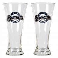 Milwaukee Brewers Premiere Pilsner Glass Set