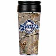 Milwaukee Brewers RealTree Camo Coffee Mug Tumbler