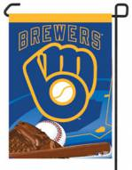 "Milwaukee Brewers Retro 11"" x 15"" Garden Flag"