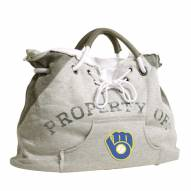 Milwaukee Brewers Retro Hoodie Tote Bag