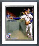 Milwaukee Brewers Robin Yount 1982 World Series Action Framed Photo