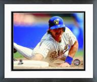 Milwaukee Brewers Robin Yount 1990 Action Framed Photo