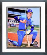 Milwaukee Brewers Robin Yount Posed Framed Photo