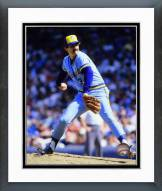Milwaukee Brewers Rollie Fingers 1985 Action Framed Photo