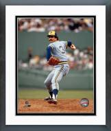 Milwaukee Brewers Rollie Fingers Pitching Framed Photo