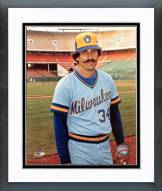 Milwaukee Brewers Rollie Fingers Posed Framed Photo