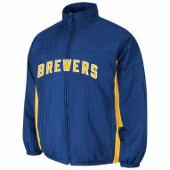 Milwaukee Brewers Royal Double Climate Jacket