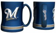 Milwaukee Brewers Sculpted Relief Coffee Mug