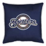 Milwaukee Brewers Sidelines Pillow
