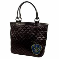 Milwaukee Brewers Sport Noir Quilted Tote