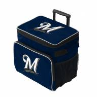 Milwaukee Brewers Tracker Rolling Cooler