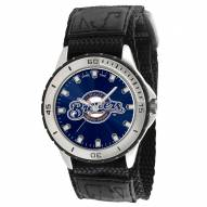 Milwaukee Brewers Veteran Velcro Mens Watch