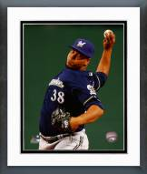 Milwaukee Brewers Wily Peralta 2014 Action Framed Photo