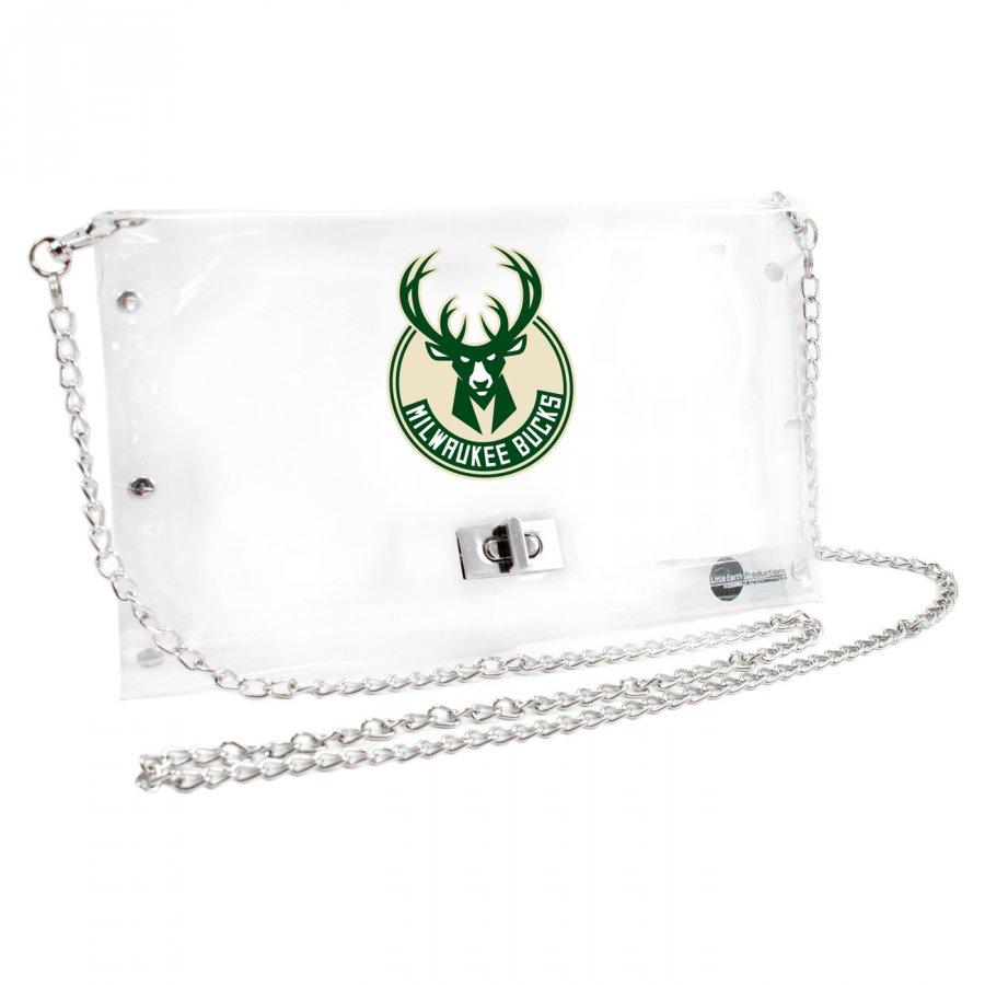 Milwaukee Bucks Clear Envelope Purse