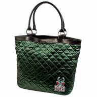 Milwaukee Bucks Quilted Tote Bag