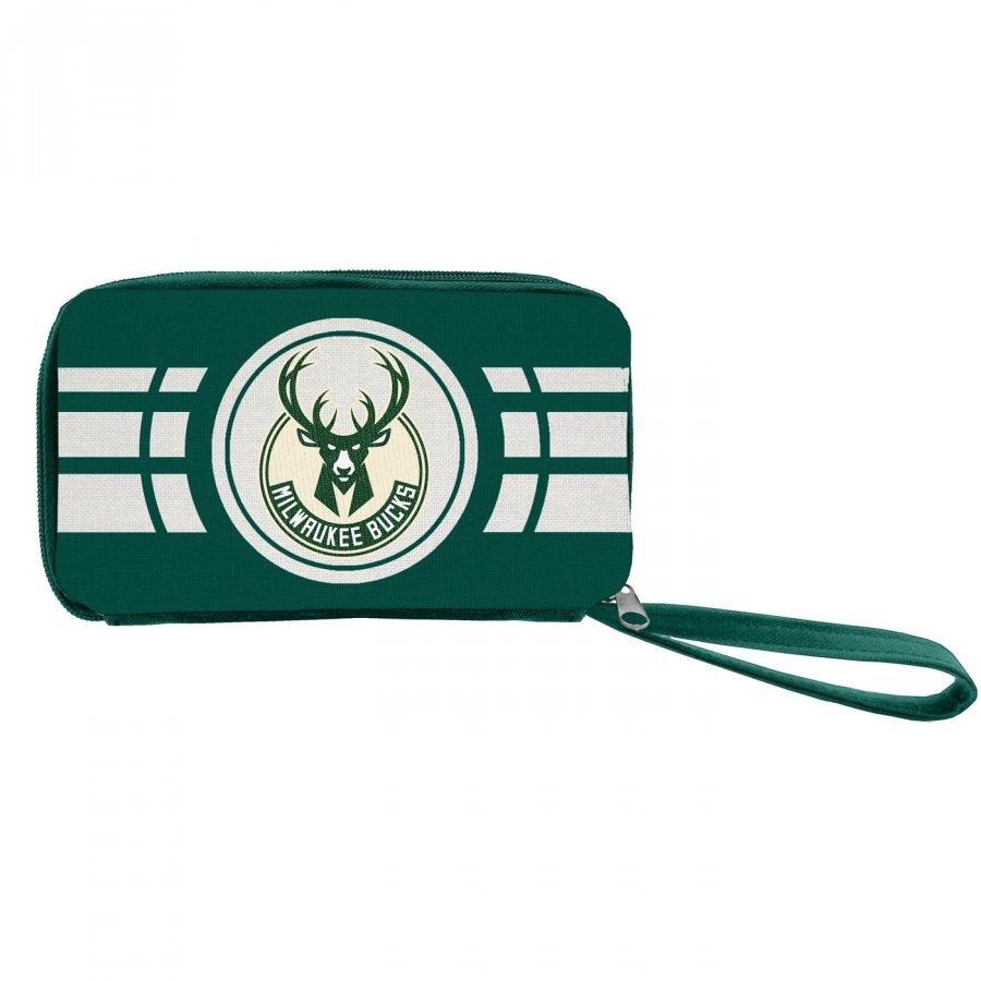 Milwaukee Bucks Ripple Zip Wallet