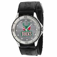 Milwaukee Bucks Veteran Velcro Mens Watch
