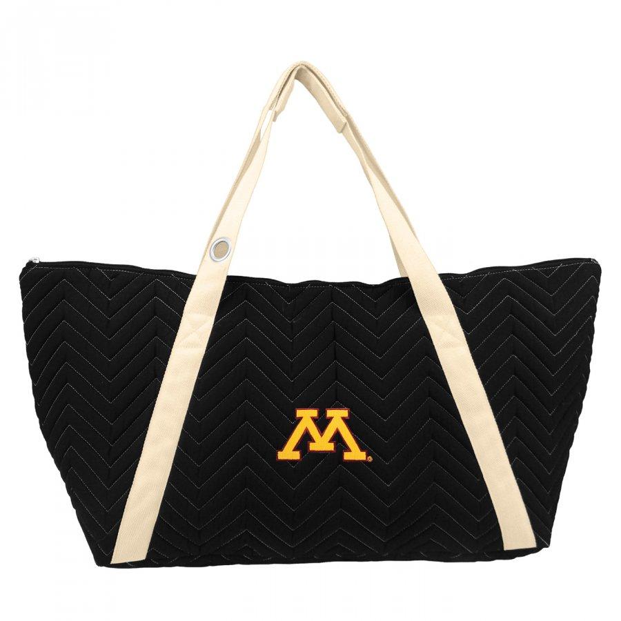 Minnesota Golden Gophers Chevron Stitch Weekender Bag