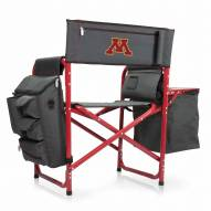 Minnesota Golden Gophers Gray/Red Fusion Folding Chair