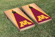 Minnesota Golden Gophers Hardcourt Triangle Cornhole Game Set