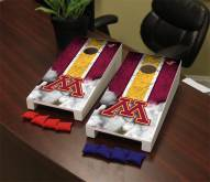 Minnesota Golden Gophers Mini Cornhole Set