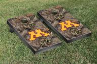 Minnesota Golden Gophers Mossy Oak Cornhole Game Set