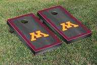 Minnesota Golden Gophers Onyx Stained Border Cornhole Game Set