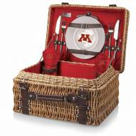 Minnesota Golden Gophers Red Champion Picnic Basket