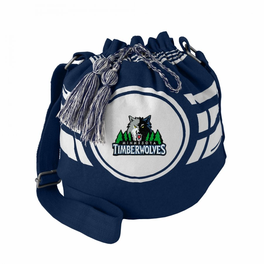 Minnesota Timberwolves Ripple Drawstring Bucket Bag
