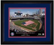 Minnesota Twins 13 x 16 Personalized Framed Stadium Print