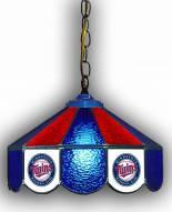 """Minnesota Twins 14"""" Glass Pub Lamp"""