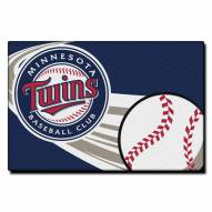 "Minnesota Twins 20"" x 30"" Tufted Rug"