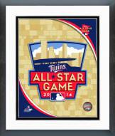 Minnesota Twins 2014 MLB All-Star Game Logo Framed Photo